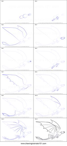 How to Draw Toothless Flying from How to Train Your Dragon step by step printable drawing sheet to print. Learn How to Draw Toothless Flying from How to Train Your Dragon Easy Dragon Drawings, Easy Drawings, Drawing Sheet, Drawing Tips, Drawing Ideas, Learn Drawing, Drawing Drawing, Dragon Crafts, Dragon Art