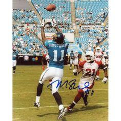 """Mike Sims-Walker Jacksonville Jaguars Fanatics Authentic Autographed 8"""" x 10"""" Catch Vertical Photograph"""