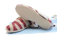 fresh and ready for your feet,TOMS shoes,god...SAVE 70% OFF! this is the best! | See more about toms shoes outlet, red stripes and tom shoes.