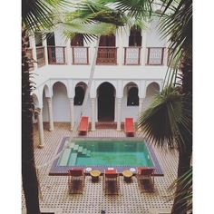 Check out these 4 amazing riads to stay in Marrakech. http://townske.com/guide/14953/three-nights-in-marrakech