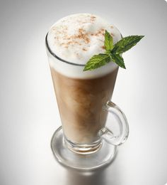 Bailey's mint chocolate latte