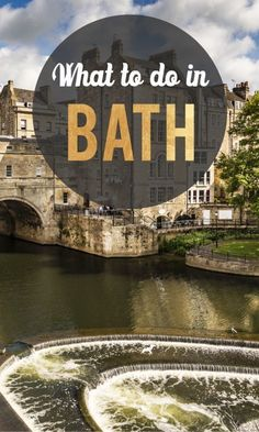 Travel to Bath, England and you will be rewarded for your effort with Roman…