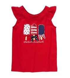 Pin for Later: 99 Ways to Make This Your Best Fourth of July Ever! Wear This: Gymboree T-Shirt Your American girl can showcase her style in Gymboree's sweet Sweetheart Tee ($10, originally $20).