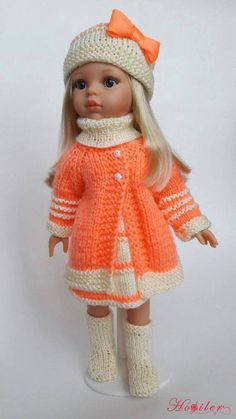 orgu-oyuncak-bebek-elbiseleri- – Harika Hobi Sitesi See other ideas and pictures from the category menu…. Crochet Doll Clothes, Knitted Dolls, Girl Doll Clothes, Doll Clothes Patterns, Crochet Dolls, Barbie Clothes, Girl Dolls, Handmade Dresses, Handmade Clothes