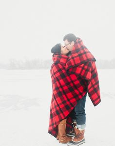 Adorable winter photo session, lots of great ideas