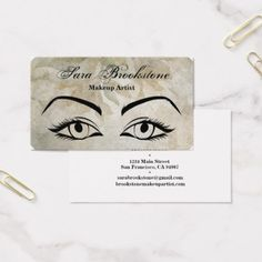 Microblading eyebrows tattoo permanent makeup business card makeupartist businesscards beautiful eyes makeup artist business cards colourmoves