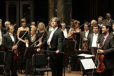 La Orquesta Filarmónica de la Ciudad de México dio un concierto en el Palacio de Bellas Artes.  Foto: Abril Cabrera A.