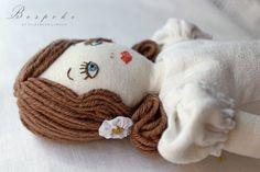 A . B e s p o k e . B e a u t y Heirloom quality vintage inspired rag doll