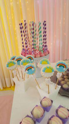 rainbow idea baby shower