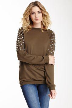 Vanity Jeweled Sweater / Meghan Fabulous