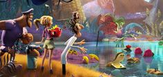 Check out the amazing Foodimals from September's sequel to Cloudy With A Chance of Meatballs