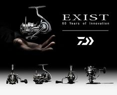 Daiwa Exist LT Right Hand Spinning Reel for sale online Spinning Reels, Rod And Reel, Saltwater Fishing, Fishing Reels, New Chapter, Innovation, Acting, How To Become, It Cast
