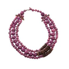 Symbolic of trust and intuition, this necklace will inspire you to follow your heart. Andean Collection! Love them.