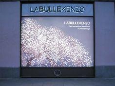 EMILIE FAIF-Cerisier / impression et lumière / La bulle Kenzo / Kenzo Parfum / Paris 2006