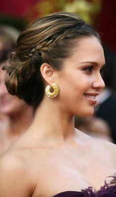 Rachel McAdams Head Banded Knot Jessica-Alba%2525E