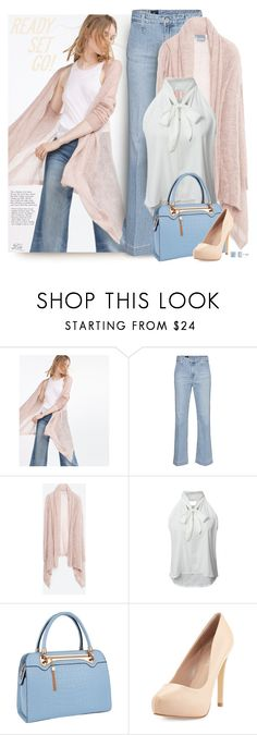 """Ready, set... style!"" by breathing-style ❤ liked on Polyvore featuring Zara, AG Adriano Goldschmied, WithChic, Relaxfeel, Charles by Charles David and Ice"