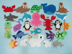 Commotion in the Ocean Felt Board Story/Felt Board Stories/Flannelboard Stories/Felt Ocean Animals/Ocean Theme/Teaching Resource/Literacy