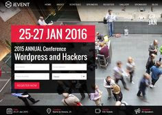 iEvent Wordpress | CSS Website