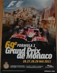 2011 Grand Prix of Monaco poster
