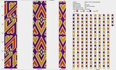 14 around bead crochet pattern Bead Crochet Patterns, Bead Crochet Rope, Crochet Chart, Loom Patterns, Beading Patterns, Minecraft Beads, Bijoux Diy, Beading Tutorials, Loom Beading