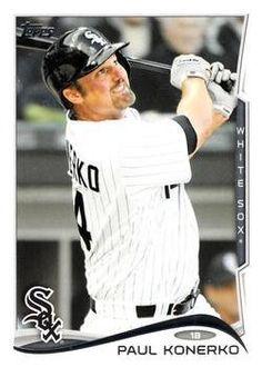 e62b479d0e200 2014 Topps  610 Paul Konerko - Chicago White Sox (Baseball Cards)