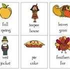 Thanksgiving compare - contrast cards - Pinned by @PediaStaff – Please Visit ht.ly/63sNtfor all our pediatric therapy pins