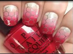 Gradient Nails by do you think of this design? Nail Tape, Beauty 101, Nail Art Videos, Gradient Nails, New Nail Art, Beautiful Nail Art, Art Store, Nail Tutorials, Nailart
