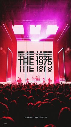 The 1975 For everything 1975 check out IomoioYou can find The 1975 and more on our website.The 1975 For everything 1975 check out Iomoio Bedroom Wall Collage, Photo Wall Collage, Picture Wall, The 1975 Tour, The 1975 Live, The 1975 Wallpaper, The 1975 Concert, Concert Stage, Matty Healy