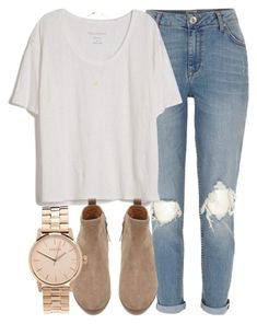 """""""Untitled #4197"""" by laurenmboot ❤ liked on Polyvore featuring River Island, Fine Collection, Witchery, Jeweliq and Nixon"""