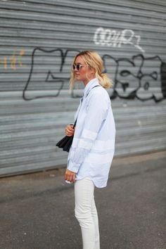 white on white. Paris. #adenorah