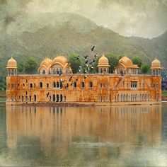 Jal Mahal Palace, Man Sagar Lake, Jaipur. India