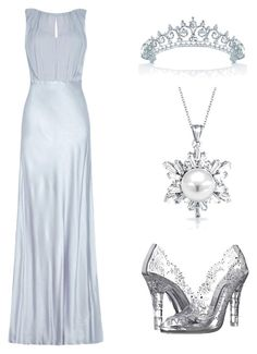 """ice queen"" by liniki on Polyvore featuring Dolce&Gabbana, Ghost and Bling Jewelry"