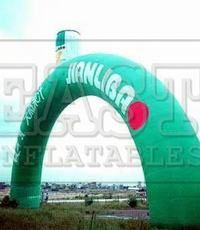 Inflatable Arches 28Model No: E9-057 Brand Name: East  Place of Origin: China Size(Feet):66ft(W)  Weight: Kg Size(Meter): 20m(W)