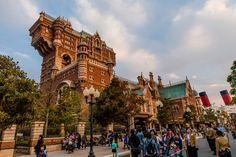 Image taken from disneytouristblog.com  Amazing image of Tower of Terror at Tokyo Disney Sea!