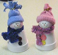 Handmade Christmas snowman1