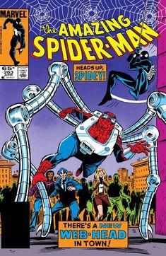 Amazing Spider-Man 263 , Vol 1 Marvel Comics Marvel Comics, Marvel Comic Books, Comic Books Art, Comic Art, Spiderman Marvel, Marvel Characters, Marvel Dc, Superman, Book Art