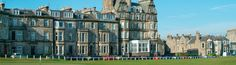 Hotel in St Andrews - Macdonald Rusacks Hotel, St Andrews - They do a lovely tea while overlooking the 18th Green of St. Andrews