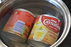 .. chute a vône mojej kuchyne...: Karamelový zákusok na oplátke Coffee Cans, Canning, Bottle, Drinks, Food, Drinking, Beverages, Home Canning, Flask