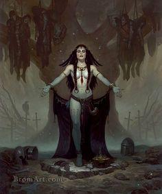 Halloween-Voodoo Priestess