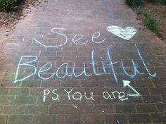 You are beautiful! Happy seeing beautiful!    www.seebeautiful.com
