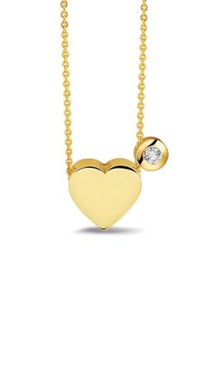 Which symbol is better for expressing your love than with a heart? The ashes are integrated in the back of the pendant. The zircon or diamond next to the heart is optional. Available in silver or 14 kt gold.