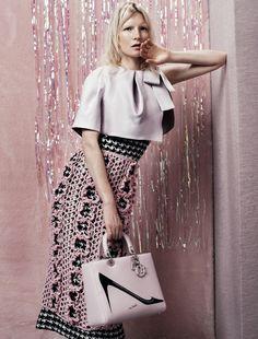 Dior  Kirsten Owen for Dazed  Confused September 2013 photographed by Josh Olins
