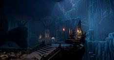 Dragon Age Inquisition Jaws of Hakkon Dungeon, Shawn Kassian on ArtStation at https://www.artstation.com/artwork/dragon-age-inquisition-jaws-of-hakkon-dungeon