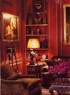 Best Red Living Rooms Interior Design Ideas And Furniture Living Room Interior, Luxury Interior, Interior Design Living Room, Living Room Designs, Classic Interior, Interior Ideas, Classic Furniture, Home Furniture, Living Room Red