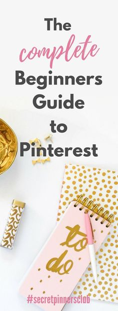 The Ultimate beginners guide to Pinterest will show you how to get started using Pinterest to promote your blog or biz. Also have some Pinterest tips and tricks to getting followers and traffic to your blog.