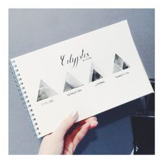 Glyphs symbols in the form of geometry #watercolor
