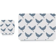 CHICKEN SET OF 4 PLACEMATS by Raw Xclusive. Our fun and quirky placemats are proudly Made in England. Every set of placemats has a melamine front and cork Gift Suggestions, Quirky Gifts, Gifts Under 10, Luxury Decor, Cleaning Wipes, Coasters, Chicken, How To Make, Fun