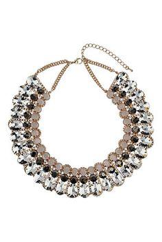 Mega Rhinestone Collar
