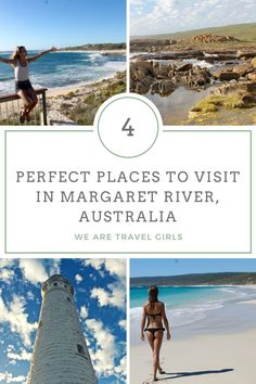 4 SCENIC PLACES TO VISIT IN MARGARET RIVER, AUSTRALIA Stunning scenery, great food and wine, friendly people and breath-taking nature. What else do you need? Located only 300 kilometres south of Perth, Margaret River is the perfect place to visit for some rest and relaxation. Here are 4 dreamy locations to visit on your trip to the Margaret River!