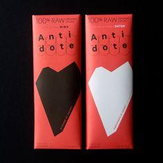 Antidote Chocolate #packaging
